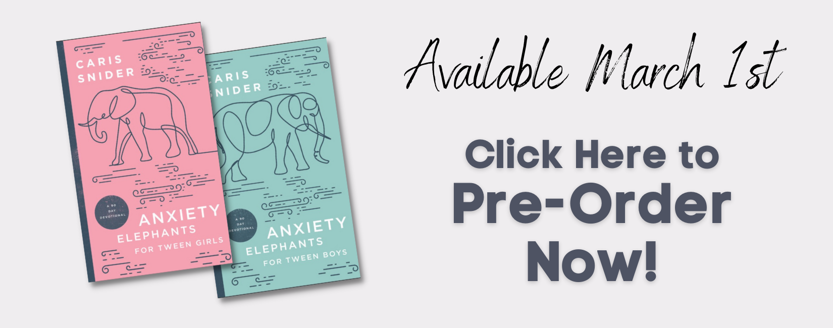 Anxiety Elephants for Tweens - Pre-Order Now